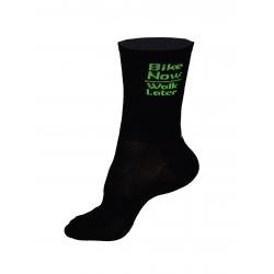 Socks High Summer HERO black-fluo yellow
