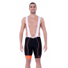 Cycling Pant Bib pro with pad Orange - HERO