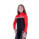 Cycling Kids Jacket classic Red - TOLEDO