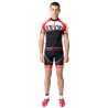 Cycling Jersey Short Sleeves red - TOKIO
