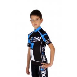 KIDS Cycling Jersey short sleeves PRO blue - NAPOLI