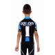 Cycling jersey short sleeves ELITE+ KIDS blue