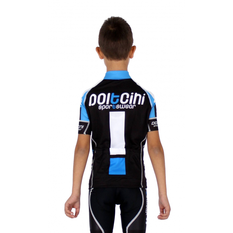 ... Cycling jersey short sleeves ELITE+ KIDS blue 55053e3b5