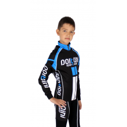 KIDS Cycling Winter Jacket ELITE blue - NAPOLI
