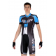 Aerosuit short sleeves ELITE blue - NAPOLI