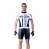 Cycling Jersey Short Sleeves white - ATHENS