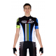 Cycling Jersey Short Sleeves CLASSIC black - ATHENS