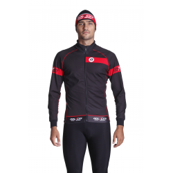 Cycling Jacket Winter red - CLASSICO