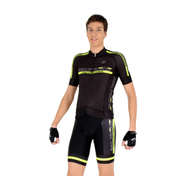 Cycling Jersey short sleeves -PRO Fluo Yellow - PROFESSIONAL