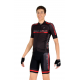 Cycling Jersey short sleeves -PRO Red - PROFESSIONAL
