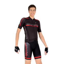 Cycling Jersey short sleeves -ELITE Red - PROFESSIONAL