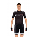 Cycling Jersey short sleeves -ELITE White - PROFESSIONAL