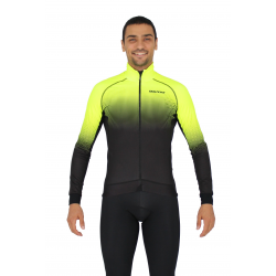 Cycling Jacket Winter PRO fluo yellow - SELERO