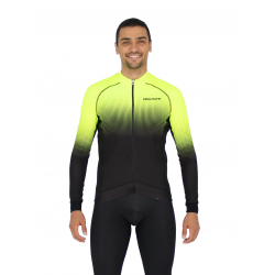 Cyclisme à Maillot manches longues PRO fluo yellow - SELERO