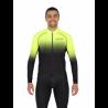Cycling Jersey Long Sleeves PRO fluo yellow - SELERO