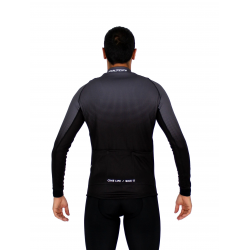 Cycling Jersey Long Sleeves PRO grey - SELERO