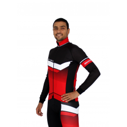 Cycling Jacket Winter PRO red - ORBA