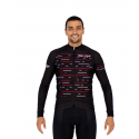 Cycling Jersey Long Sleeves PRO red - OLIVA
