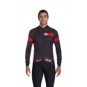 Cycling Jersey Long Sleeves red - CLASSICO