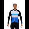 Cycling Jersey Long Sleeves PRO blue - CATALANA