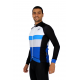 Cycling Jersey Long Sleeves PRO blue - CATALANA