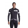 Cycling Jersey Long Sleeves white - CLASSICO