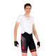 Cycling Pant Bib - PRO Red - PROFFESSIONAL