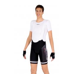 Cycling Pant Bib - PRO White - PROFFESSIONAL
