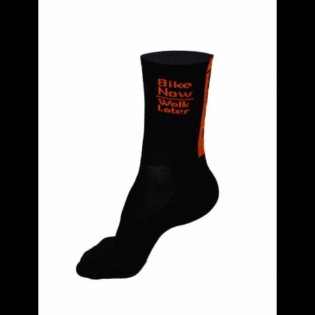 Чорапи високи зимни, HERO black-orange