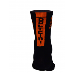 Socks High Winter HERO black-orange