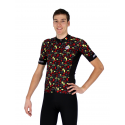 Cycling Jersey Shot Sleeves PRO - BELGIUM CHAMPION