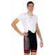 Cycling Pant Bib - Long Distance Proffessional Red Performance