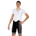 Cycling Pant Bib - Long Distance Proffessional White Performance