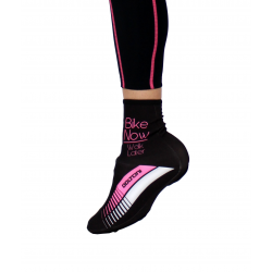 Overshoes Winter Fluo PINK Pro - HERO