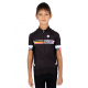 Cycling Jersey Short Sleeves PRO black - SANTIAGO KIDS