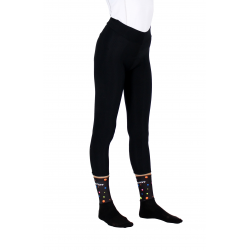 Cycling Uni Tight with pad chechmate black lady