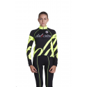Cycling Jersey Long Sleeves fluo - BIANCA