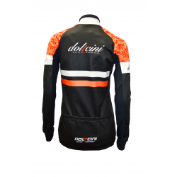 Cycling winter jacket - SENA Orange