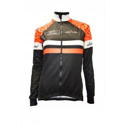 Cycling winter jacket - SENA Orange