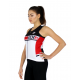 Cycling singlet LADY Santiago RED