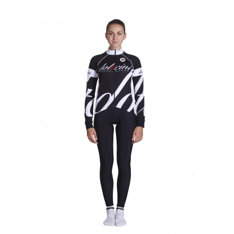 Cycling Jersey Long Sleeves white - BIANCA