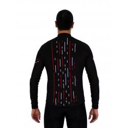 Колоездачно джърси с дълъг ръкав CLASSIC red - OLIVA