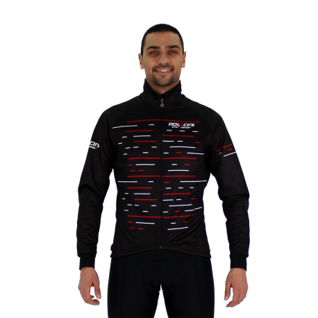 Cycling Jacket Winter CLASSIC red - OLIVA