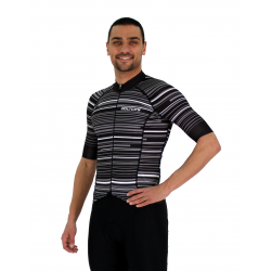 Cycling Jersey Short sleeves pro White - GANNON