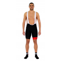 Cycling Pant Bib pro with pad Red - GANNON