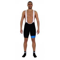 Cycling Pant Bib pro with pad Blue - GANNON