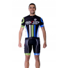 Cycling Jersey Short Sleeves black - ATHENS