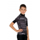 Cycling Jersey Short Sleeves PRO WHITE - GANNON KIDS