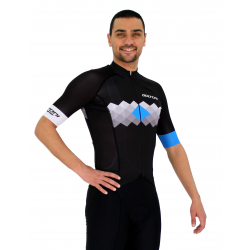 Cycling Jersey Short sleeves pro Blue - VISTA