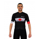 Cycling Jersey Short sleeves pro Red - VISTA